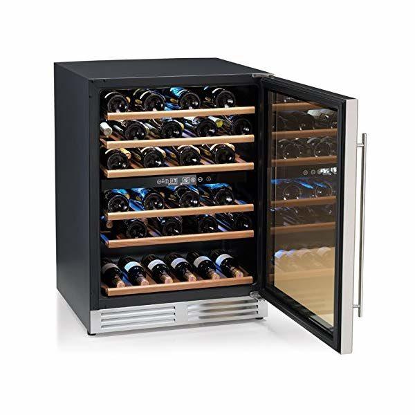 cantinetta da vino a doppia temperatura